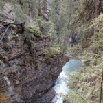 Hiking Johnson Canyon and Ink Pots in Banff