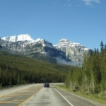 driving in kootenay national park