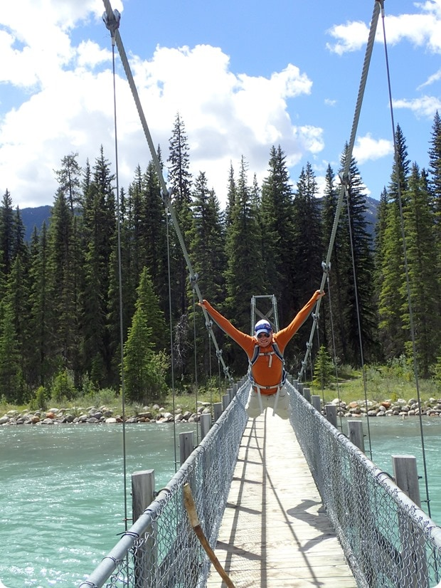 dog lake suspension bridge