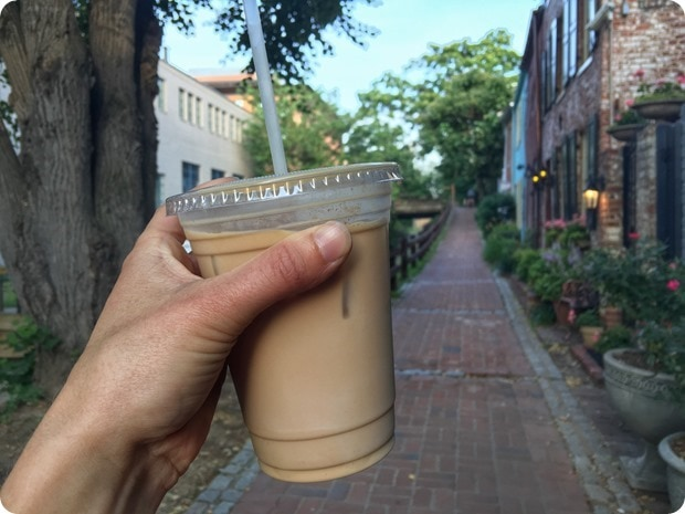 baked and wired georgetown latte