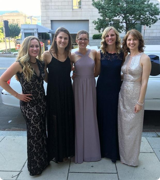 unc girls wedding