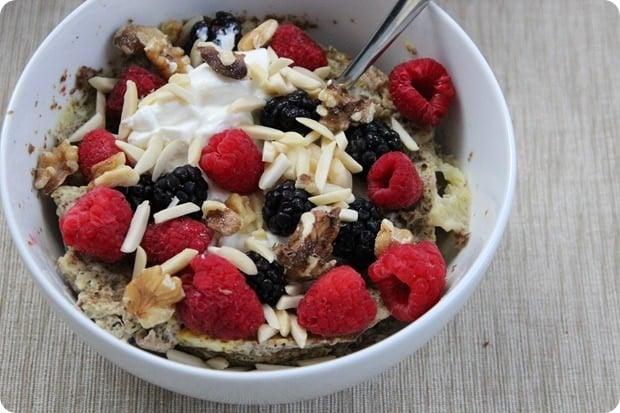 grain free breakfast bowl