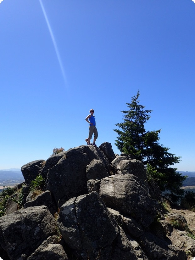 spencer butte summit