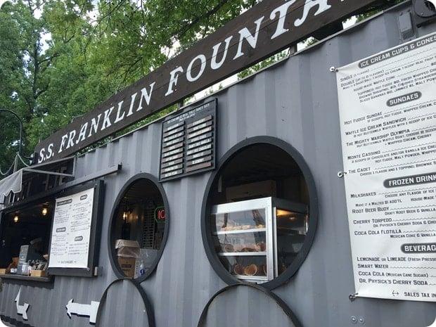 franklin fountain truck
