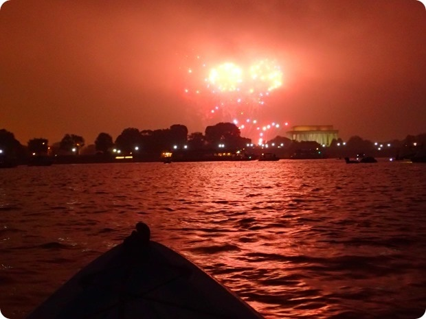 4th of july washington dc fireworks from the water