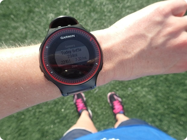 marathon track workout