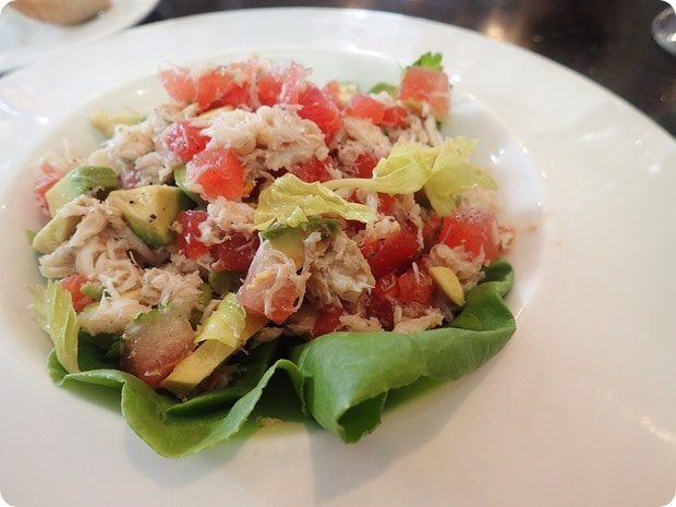 crab avocado watermelon ceviche