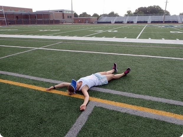 summer track workouts are hard
