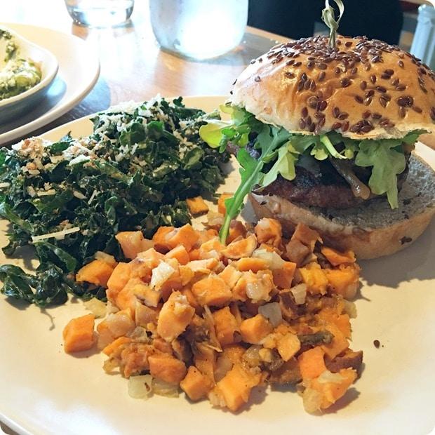 bison burger true food kitchen