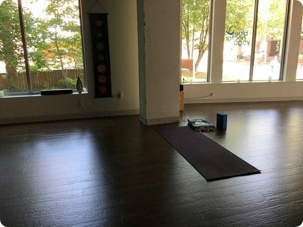 blue nectar yoga class
