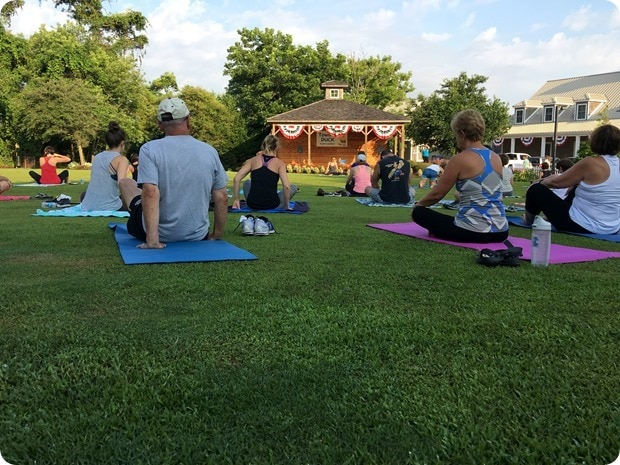 duck nc free outdoor yoga