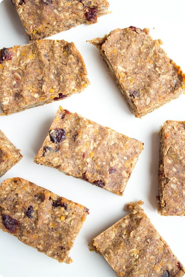 red lentil granola bars 2