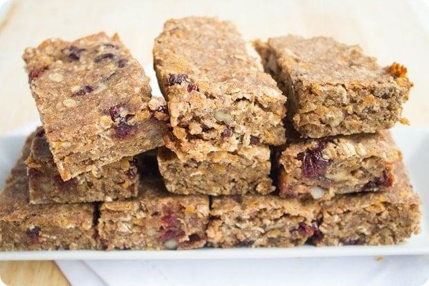 red lentil granola bars 5