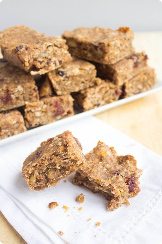 red lentil granola bars 6