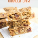 Red Lentil Granola Bar Recipe
