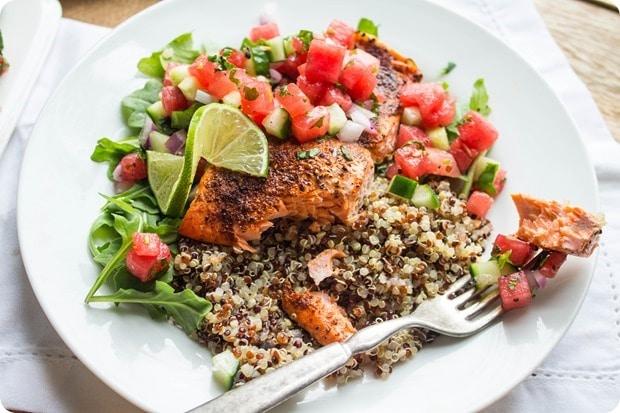 watermelon salmon 8