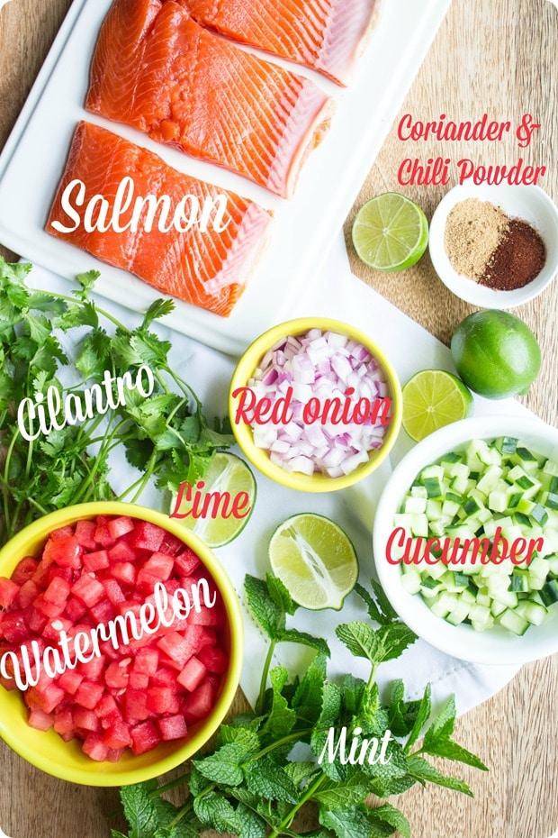 watermelon salmon ingredients