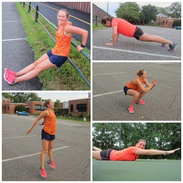 3.5 mile running boot camp workout