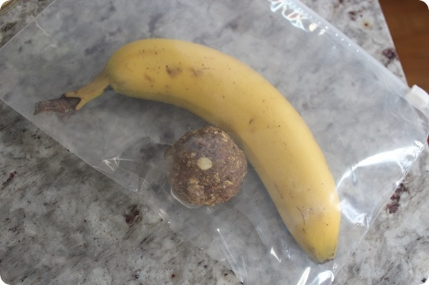healthy portable afternoon snack