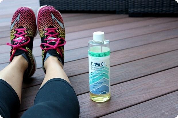 castor oil massage