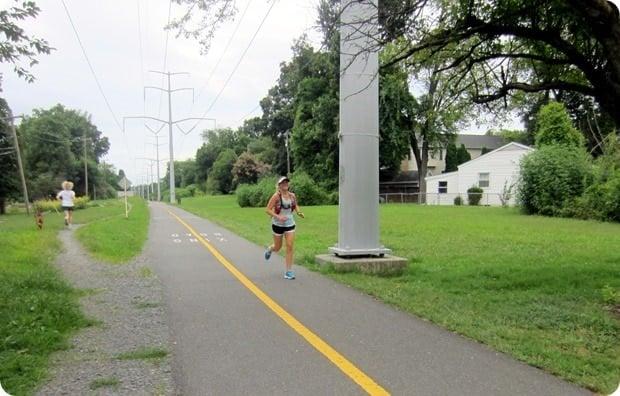 w&od trail falls church running