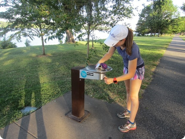 hains point water fountain