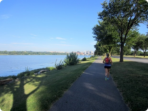 running hains point