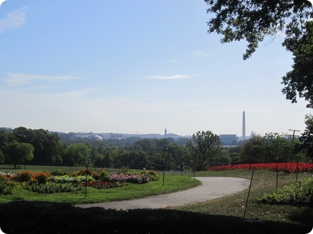 view of dc from iwo jima