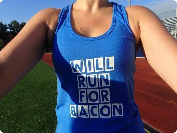 will run for bacon tank