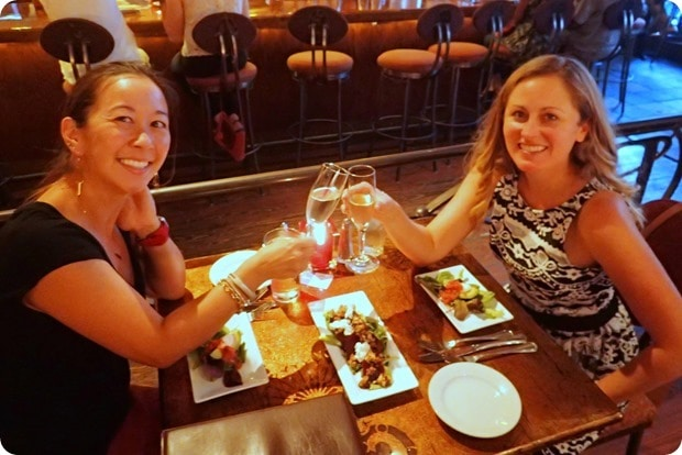 dinner at barcelona in columbus