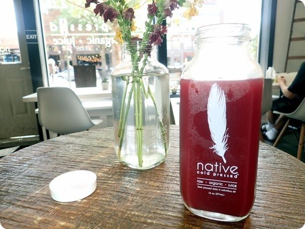 native cold pressed juice columbus