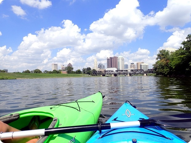 columbus kayaking