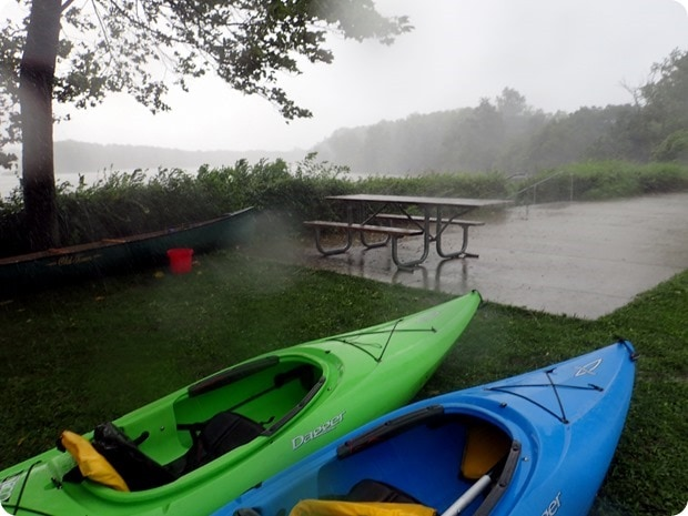 kayak thunderstorm columbus