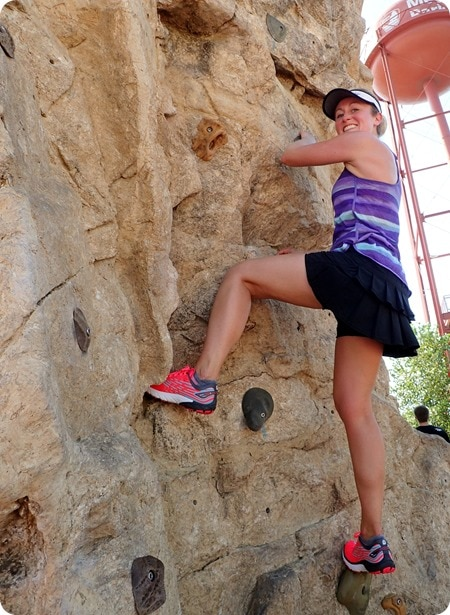 columbus outdoor climbing wall