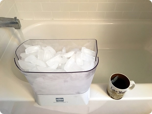 benefits of ice bath for marathon training
