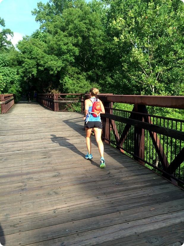 capital crescent trail marathon training
