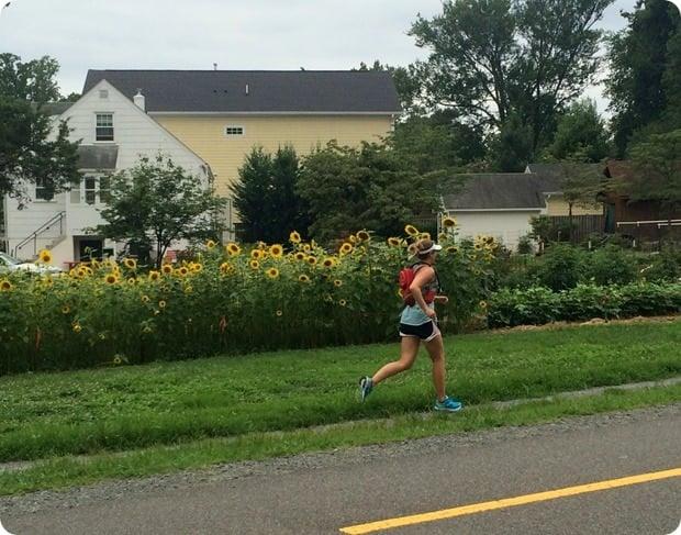 marathon training long run on w&od trail falls church