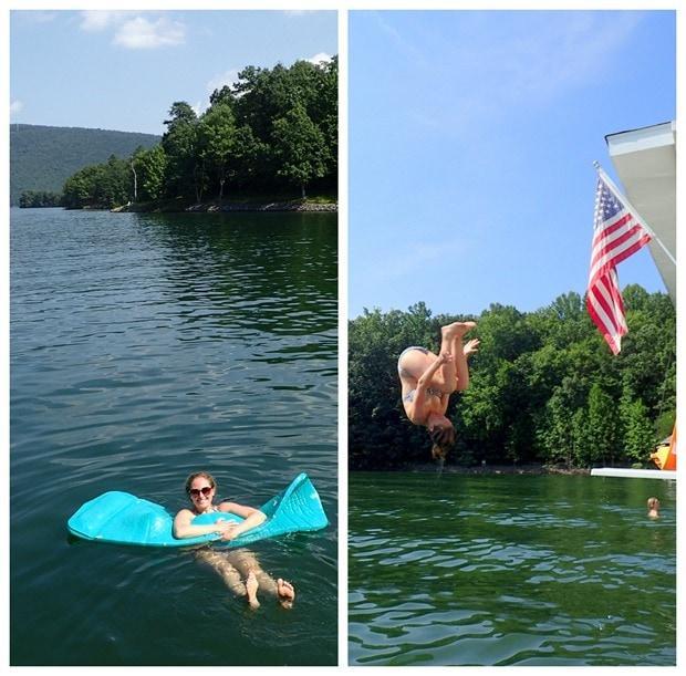 smith mountain lake swimming diving