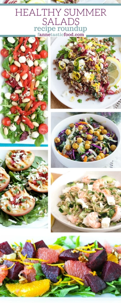summer salad roundup pinterest