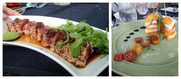 the landing restaurant smith mountain lake dinner