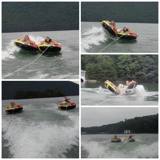 tubing on smith mountain lake