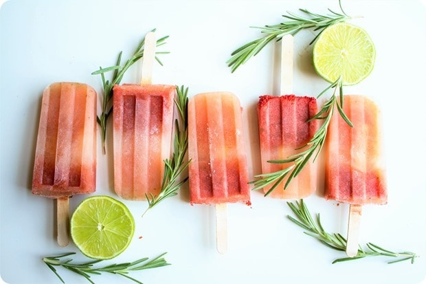 watermelon rosemary popsicles recipe