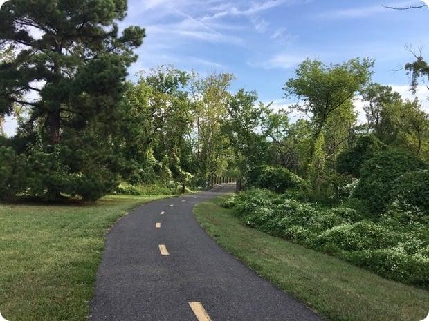 mount vernon trail alexandria long run