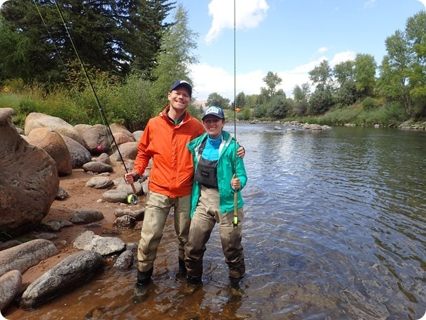 fly fishing in avon colorado