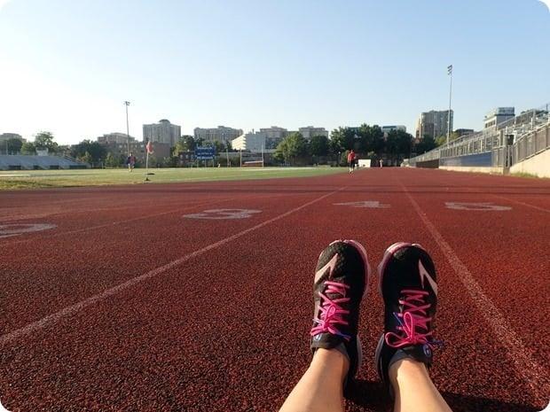 track workout washington lee
