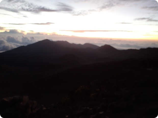 sunrise mount haleakala