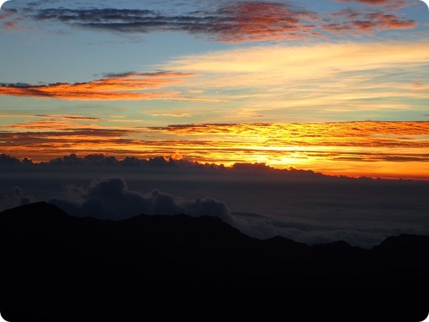 sunrise maui mountain