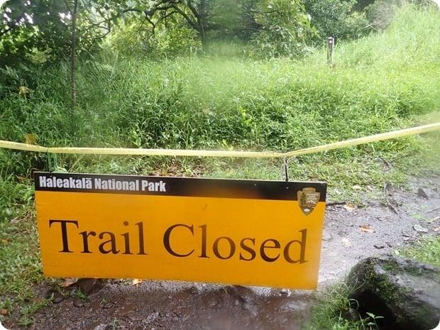 haleakala national park closed