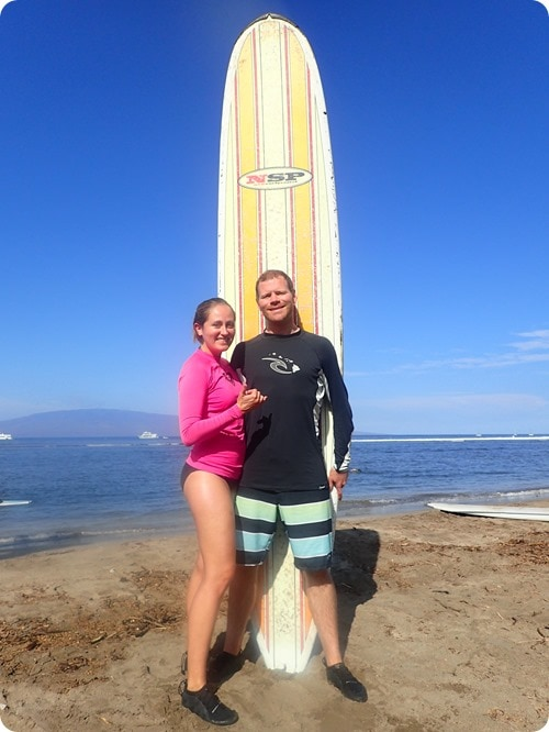 maui surf clinics review