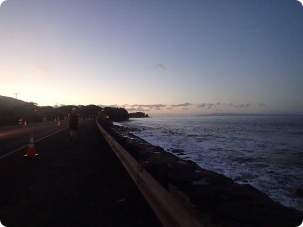 maui half marathon sunrise